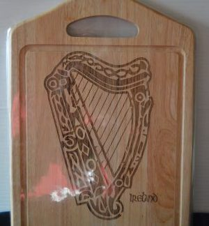 harp chopping board