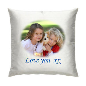 personalised satin cushions